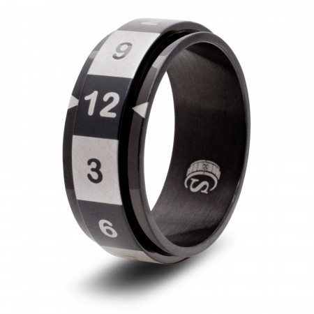 12-sided (d12) Ring