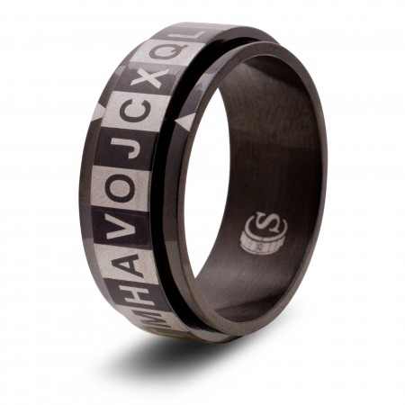 English Alphabet Ring