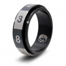 8-sided (d8) Ring