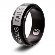 Heads Tails Ring