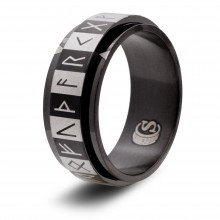 Elder Futhark Runes Ring