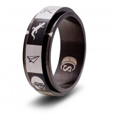 Rock Paper Scissors Lizard Spock Ring